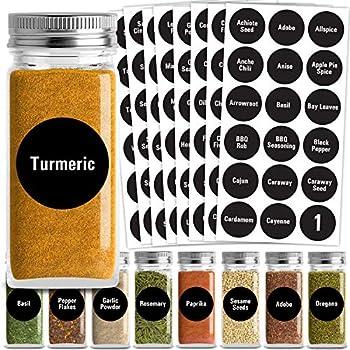 Best labels for spice jars Reviews