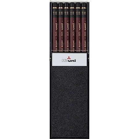 三菱鉛筆 鉛筆 ハイユニ 2B 1ダース HU2B