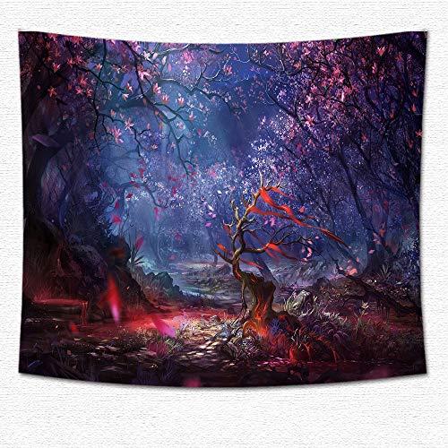 jtxqe Tapisserie Fantasie Druck hängen Tuch Dekoration Tapisserie 02 200 * 180 cm