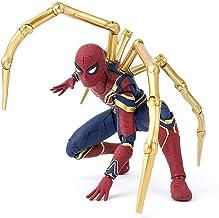 JTWMY Marvel Avengers 4 Iron Spiderman 16cm Figura de superhéroe Hombre araña Colección de Juguetes para niños