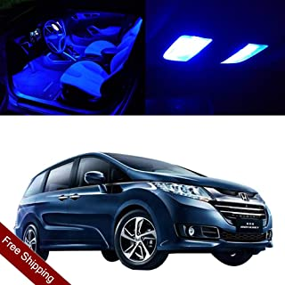 SCITOO LED Interior Lights 13pcs Blue Package Kit Accessories Replacement for 1999-2004 Honda Odyssey