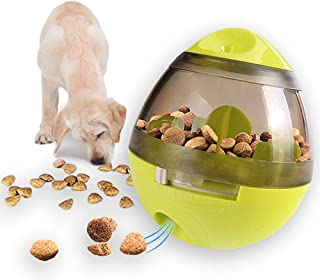 Andiker Pet Food Ball,Slow Feeder Dog Ball,Interactive Toy,Physical &Mental Stimulation,Training Toys for Dogs and Cats,Tu...