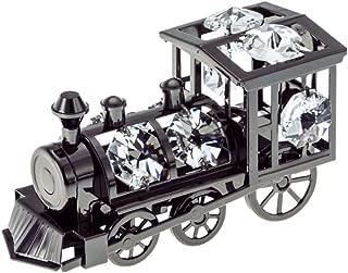 swarovski crystal train engine
