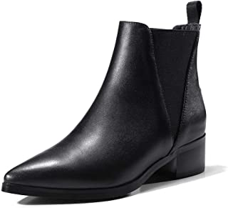 BalaMasa Womens Nubuck Low-Top Boots Leather Boots ABM13128