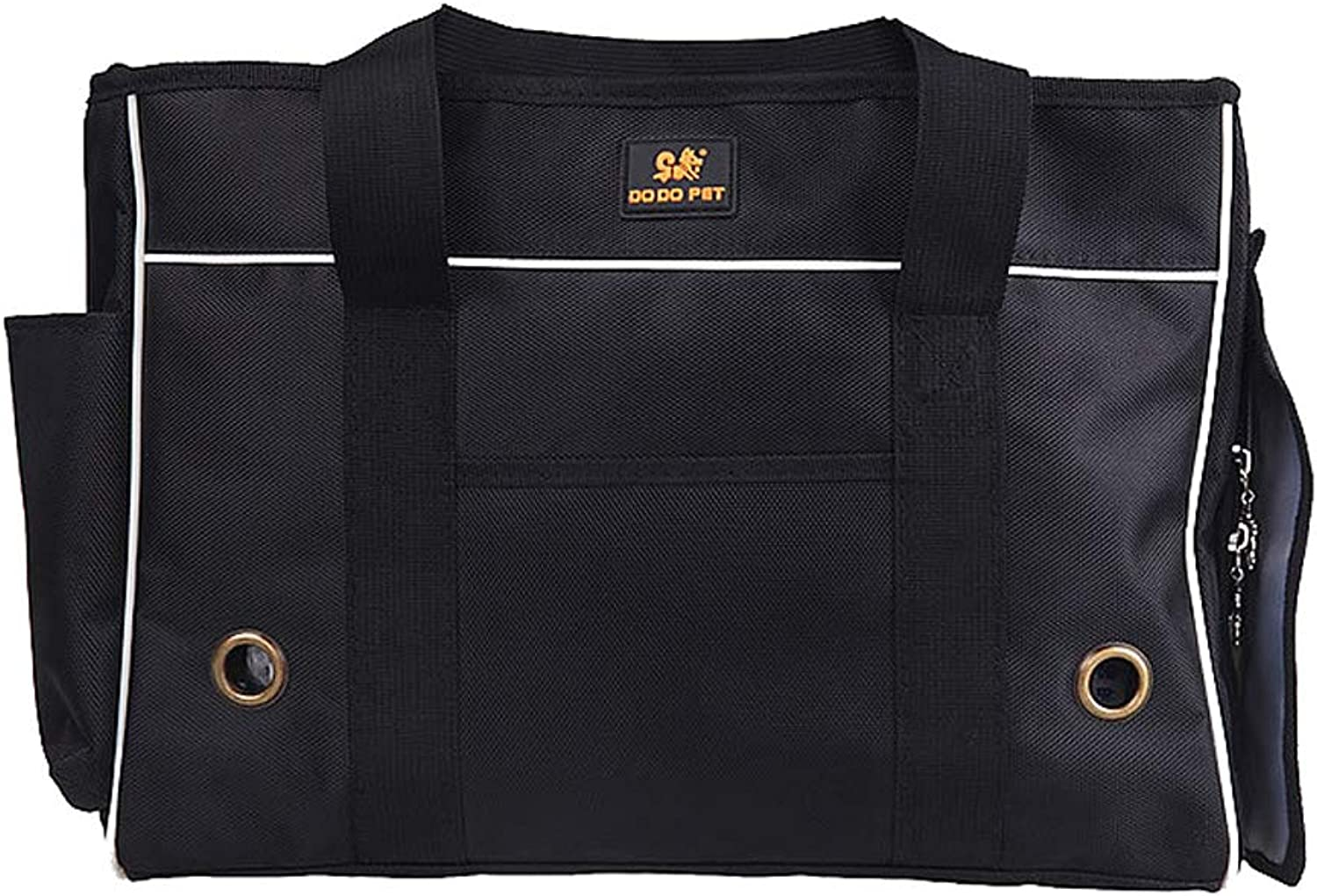Pet Travel Carrier Sling Hands Free Pet Puppy Outdoor Bag Tote Reversible (19.3x7.9x13.8 Inches)