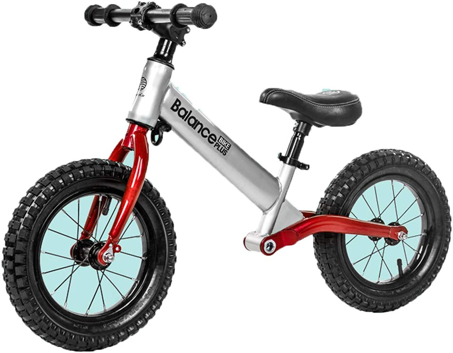 12 inch Lightweight Balance Bike for Kids', Big Kid NoPedal Training Bicycle, 4 5 6 7 8 Year Old Girl Boy Birthday Gift,B