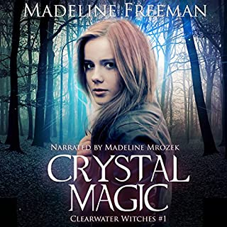 Crystal Magic audiobook cover art