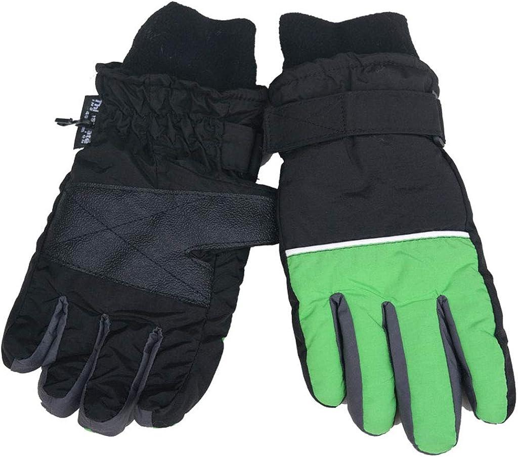 MEIYIN Ski Gloves Winter Warm Waterproof Windproof Winter Children Outdoor Mittens
