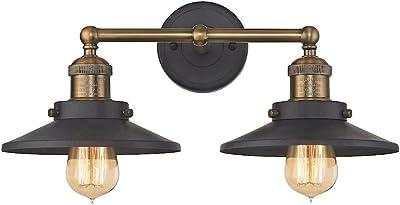 Elk Lighting 67181/2 Vanity-Lighting-fixtures, 8 x 18 x 10, Gray