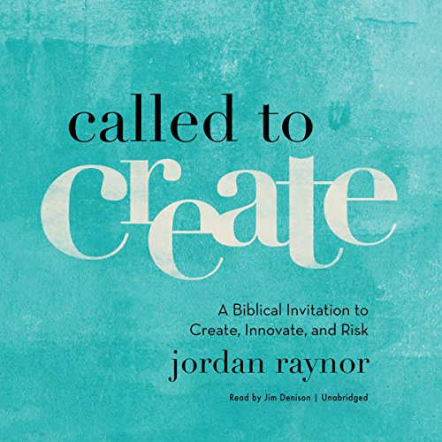 Called to Create audiobook cover art