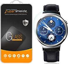 Supershieldz (2 Pack) for Huawei Watch Tempered Glass Screen Protector, Anti Scratch, Bubble Free