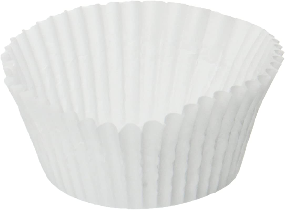 Standard Size White Cupcake Paper Baking Cup Cup Liners Pack Of 500