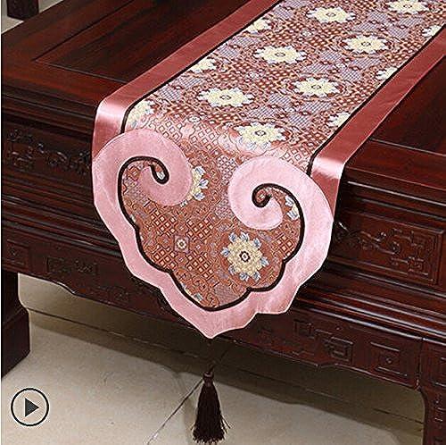 European Style Silk Tabelle Flag Coffee Table Flag Bed Flagge Tischset einfache und moderne Tischdecken ( farbe     10 , Größe   35300cm )