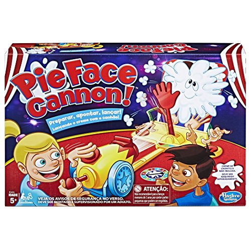 Hasbro Gaming Jogogaming Pie Face Cannon Amarelo/Vermelho
