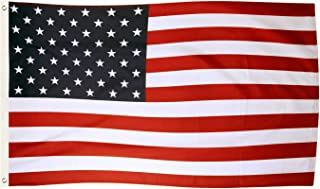 Tenby Living American Flag 3 x 5 ft. Heavyweight 2X Thicker Polyester - UV Protected, Quadruple-Stitched Fly End, Double-Stitched Edges, Brass Grommet