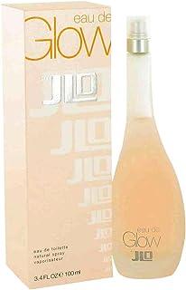 Jennifer Lopez Eau De Glow Women Eau De Toilette Spray, 3.4 Ounce