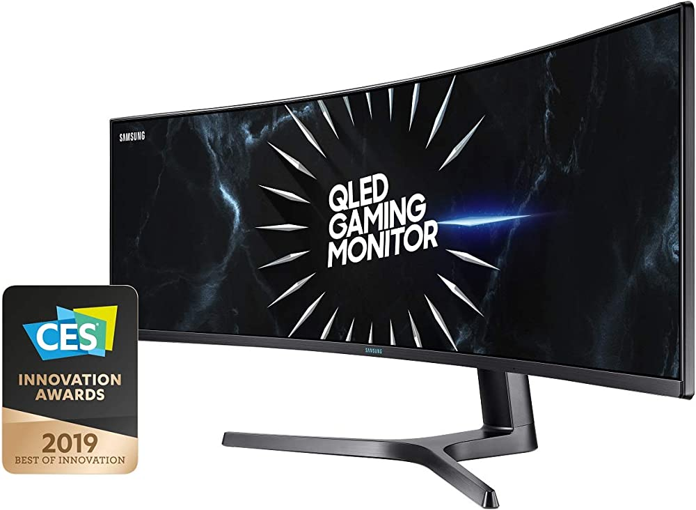 Samsung  monitor piatto per pc 49 pollici ultrawide dual quad hd lcd curvo C49RG94SSU