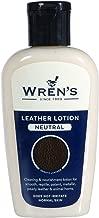 Wren's Loción para el cuero - Cuidado de bolsos, restauración limpia y nutrir el cuidado del cuero, calidad y prestigio desde 1889, para todos los colores, Botella práctica, 125 ml - 4.22 fl oz.