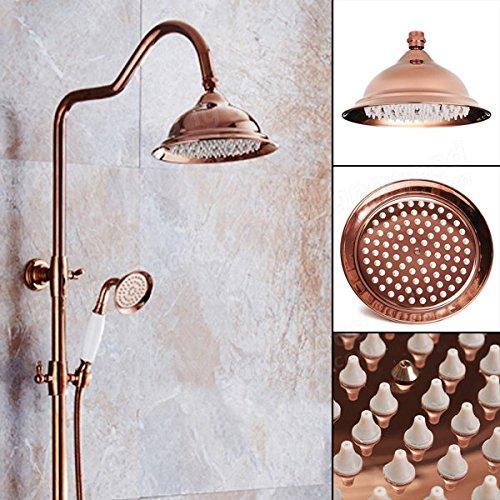 Bazaar chroom Europese set kleur goud douchelamp badkamer armatuur accessoires 203 x 130 mm Luxe