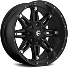 FUEL Hostage BD -Matte BLK Wheel with Painted (20 x 10. inches /8 x 170 mm, -18 mm Offset)