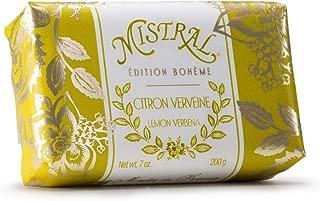 Mistral Edition Boheme Citron Verveine Lemon Verbena French Bar Soap 7 oz