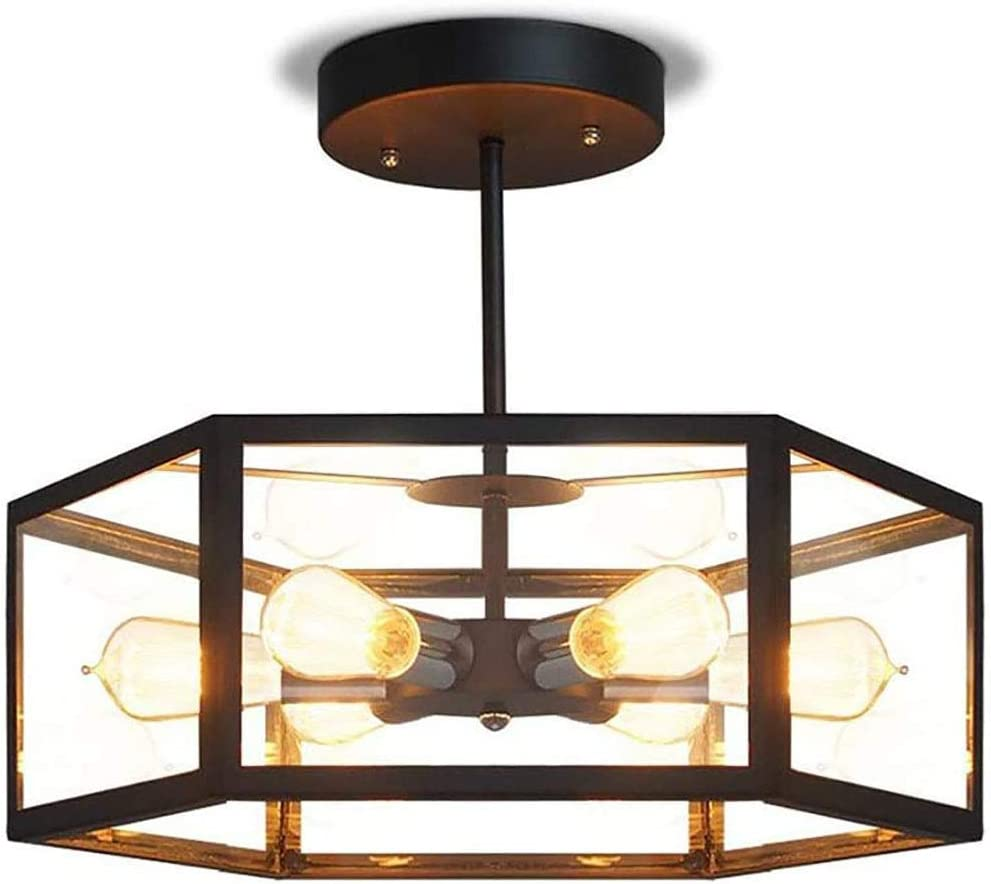 Gorgeous AMZCD Chandelier 1 Lights Hanging Ce Industrial Metal E27 Max 84% OFF