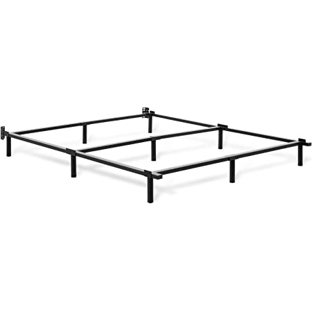 Sleep Revolution Compack Universal Bed Frame with Wheels Fits Full to California King Sizes