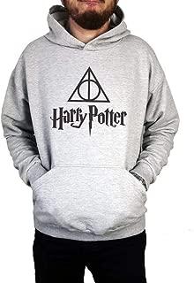 Moletom Unissex Canguru Harry Potter Cinza