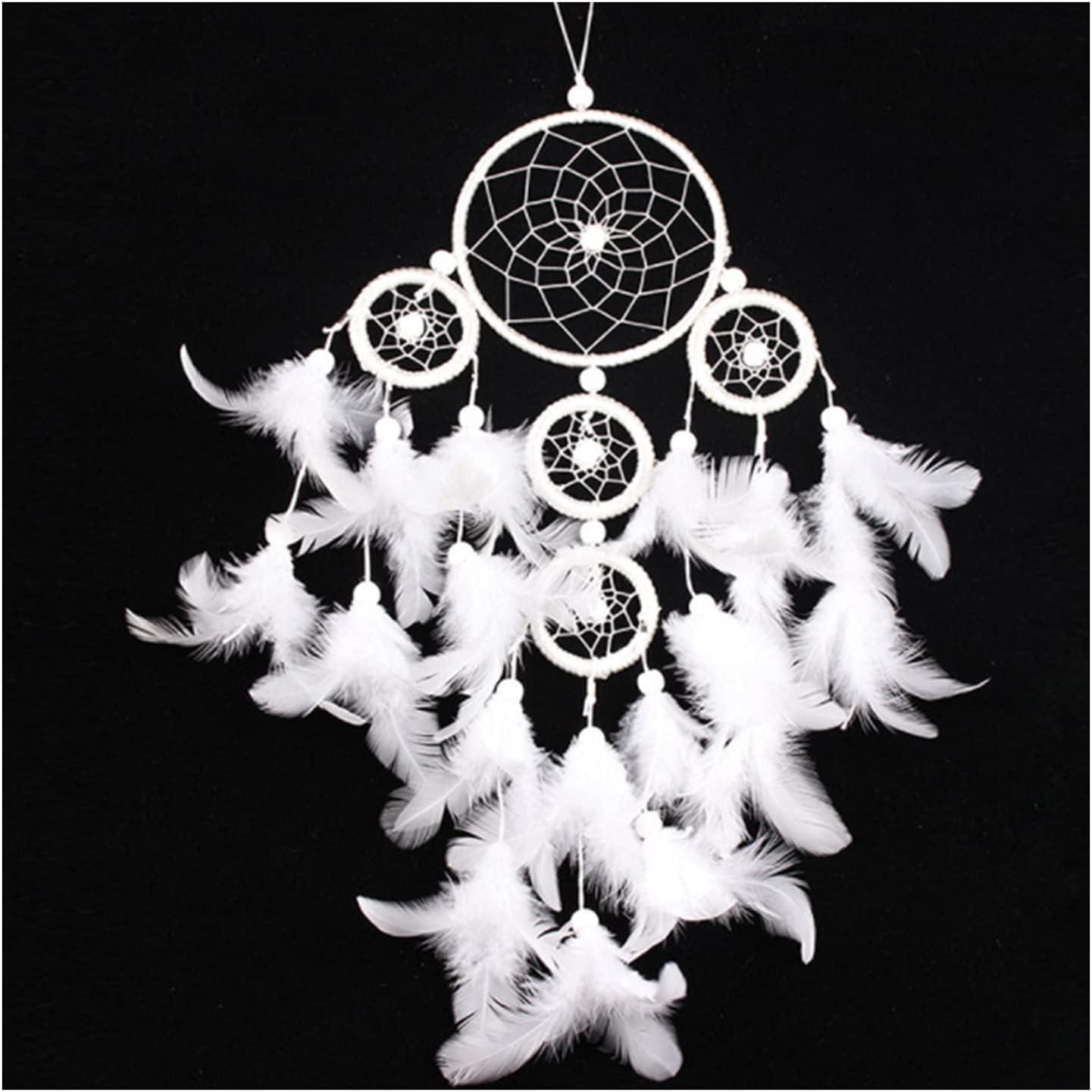 HEMOTONE Dream Catcher for Decoration Bedroom Import Handmade Bohemian Topics on TV