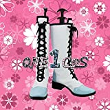 【サイズ選択可】コスプレ靴 ブーツ 12L1460 蒼き鋼のアルペジオ イオナ【イ401】 女性22CM