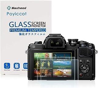 Poyiccot (2枚入り) Olympus OM-D E-M10 Mark III 強化ガラススクリーンプロテクター、9H硬度0.3mm 超薄型液晶カバー強化ガラス保護フィルム (Olympus OM-D E-M10 Mark III)