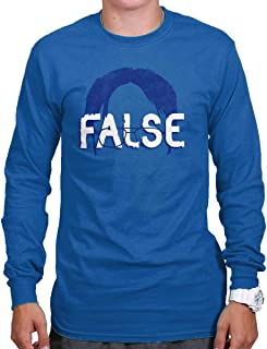 Brisco Brands False Funny Comedy TV Show Character Nerdy Long Sleeve T Shirt