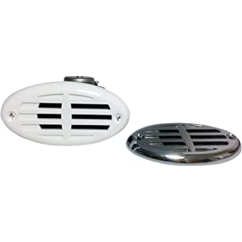 and 11095 Marine Drop in Below Deck Horns AFI Marine 11226 Screw-In Chrome Plated ASA Grill for 10082 11081 11079
