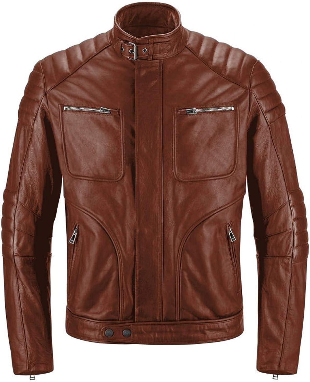 Laverapelle Men's Genuine Lambskin Direct sale of manufacturer Leather 5 popular Fencin Black Jacket