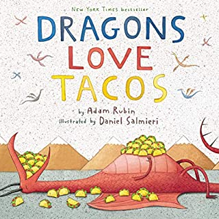 Dragons Love Tacos audiobook cover art