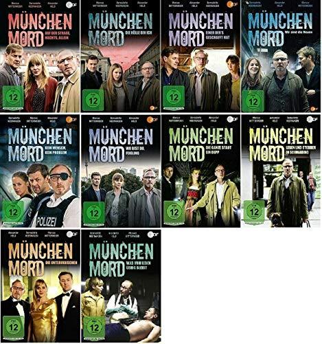 München Mord 10 Filme Paket [10 DVDs Krimi Set]