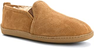 Minnetonka 男士 slippers shearling-lined