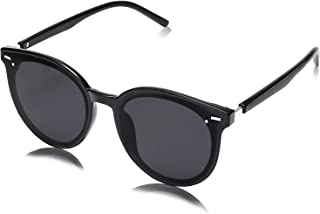Classic Round Retro Plastic Frame Vintage Large Sunglasses for Women Men BLOSSOM SJ2067