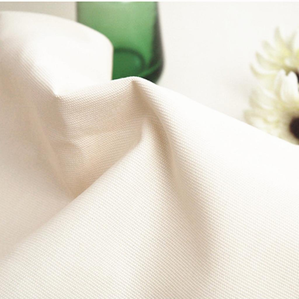 Manteles blancos, manteles, manteles simples de algodón de tela ...