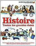 Histoire:toutes les grandes dates - Depuis les premiers hommes jusqu'à nos jours! - Gallimard Jeunesse - 11/09/2014