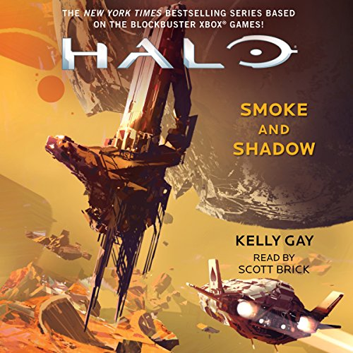 HALO: Smoke and Shadow audiobook cover art