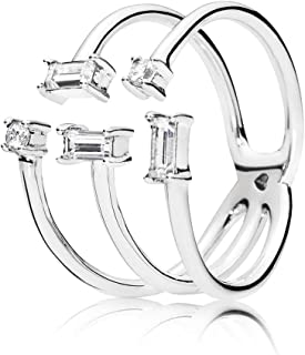 c1a504a8c Pandora Women Silver Piercing Ring - 197527CZ-58