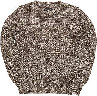 (ダブルアールエル) RRL コットン クルーネック セーター 霜降り ブラウン メンズ Cotton Crewneck Sweater 並行輸入品 [並行輸入品]