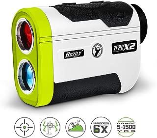 Bozily Golf Rangefinder, 6X Laser Range Finder 1500 Yards, Flag-Lock, Slope ON/Off, 4 Scan Mode, Linear & Vertical Distance, Angle & Speed Measurement,Fog Resistant- Tournament Legal Golf Rangefinder