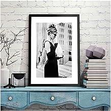 Zhaoyangeng Canvasfoto, Scandinavische stijl, huisdecoratie, moderne kunstdrukken, aquarel, voor woonkamer, modulaire post...