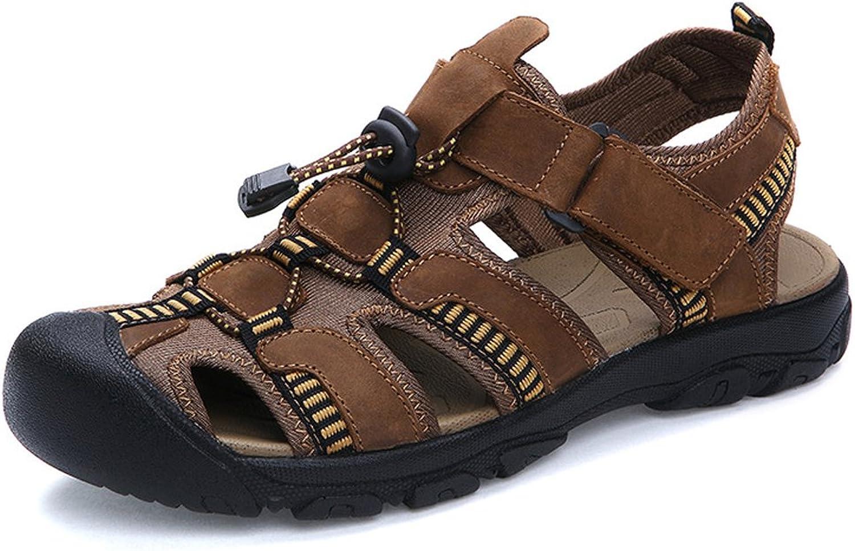 Tuoup Women's Closed Toe Sport Hiking Walking Beach Sandals