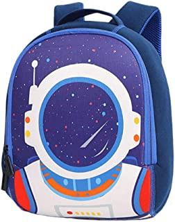 FENICAL Children Backpack Space Travel Pattern Anti-splashing Water Breathable Pack Casual Bag School Backpack for Boys Gi...