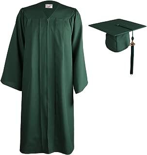 OSBO GradSeason Matte Graduation Gown Cap Tassel Set 2019 for High School and Bachelor