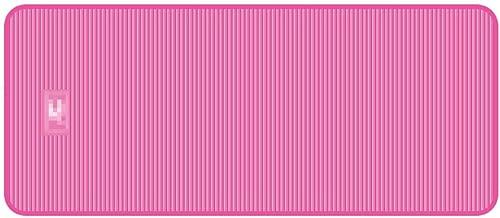 YJWOZ Multifonctionnel NBR Tapis de Remise en Forme pour Hommes épaissir élargir Tapis de Yoga Tapis de Sol Anti-dérapant pour ménage Tapis de Yoga (Couleur   Rose, Taille   185cm×90cm×15mm)