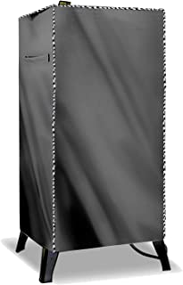 Mr.You Waterproof Smoker Cover,Grill Cover,Kettle Grill Cover Fits Masterbuilt Electric Smoker(W18D17H33 in,Gray)